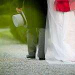 Il cilindro per lo sposo in tight